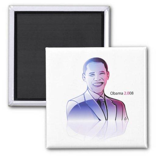 ismyhomeboy - Obama 2008 Refrigerator Magnet