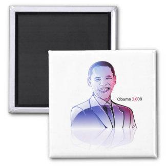 ismyhomeboy - Obama 2008 Square Magnet