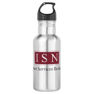 ISN Support Services Brokerage Water Bottle