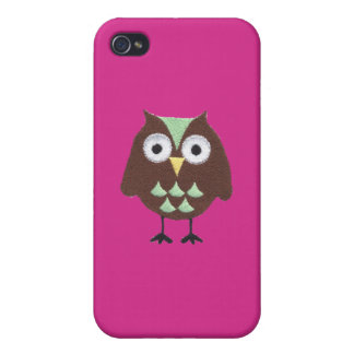 Isn't it a Hoot Owl Iphone case iPhone 4 Case