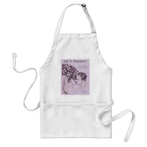 Isn't It Heavenly Songbook Cover Apron