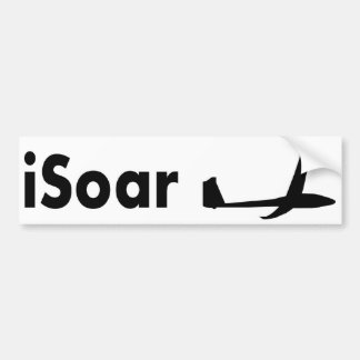 iSoar Bumper Sticker