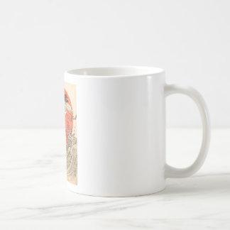 Isoda Koryusai - Crane, Waves and Rising Sun Coffee Mug