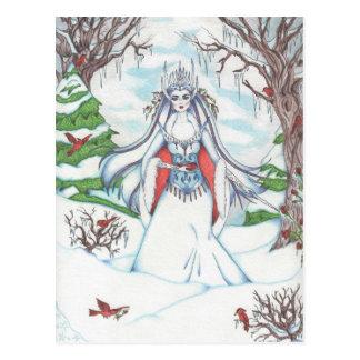 Isodora Ice Queen Postcard
