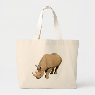 Isolated black rhinoceros bags