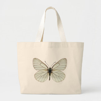 Isolated Black-veined White butterfly Bags