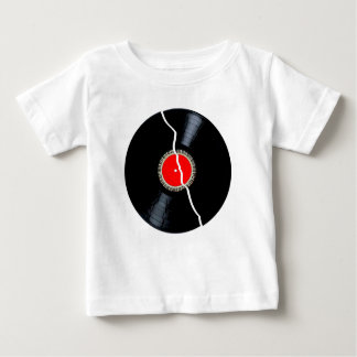Isolated Broken Record Baby T-Shirt