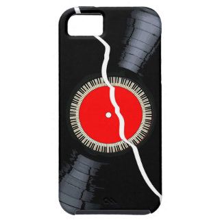 Isolated Broken Record Tough iPhone 5 Case