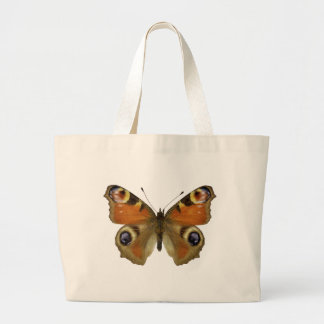 Isolated European Peacock butterfly Bag
