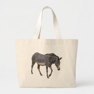 Isolated Grevy zebra Tote Bag