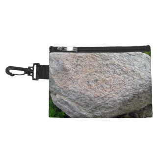 Isolated Natural Rock Pile Accessories Bags
