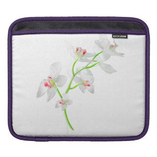 Isolated Orquideas Blossom iPad Sleeve