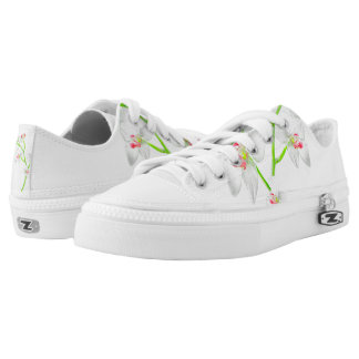 Isolated Orquideas Blossom Printed Shoes