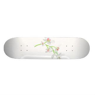 Isolated Orquideas Blossom Skate Board Decks