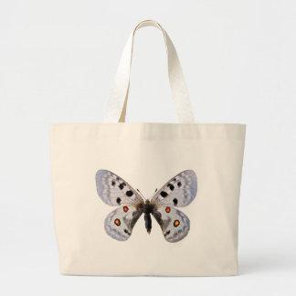 Isolated parnassius apollo bags