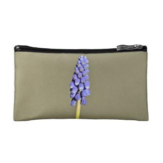 Isolated Purple Grape Hyacinth Cosmetics Bags