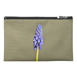 Isolated Purple Grape Hyacinth Travel Accessories Bags