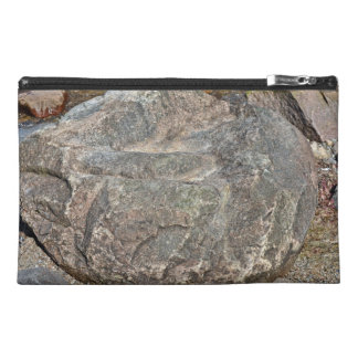 Isolated Rock on mountain Travel Accessory Bags