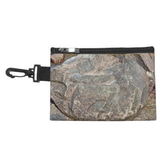 Isolated Rock on mountain Accessory Bag