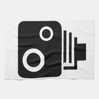Isolated Speed Camera Kitchen Towel