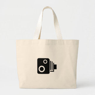 Isolated Speed Camera Large Tote Bag