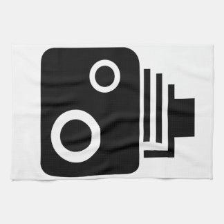 Isolated Speed Camera Tea Towel