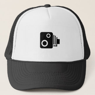 Isolated Speed Camera Trucker Hat