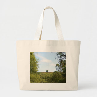 Isolated Trees OnThe Ridge Canvas Bags