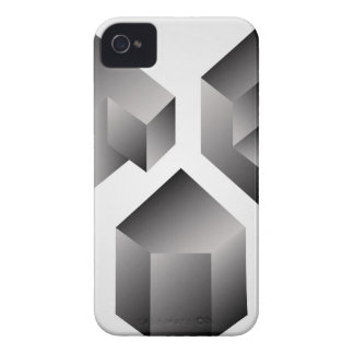 Isometric objects Case-Mate iPhone 4 case