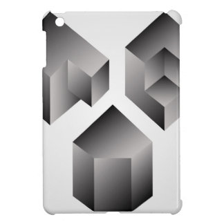 Isometric objects cover for the iPad mini