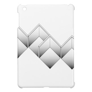 Isometry of space iPad mini cover