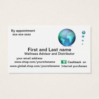 Isotonix distributor business card