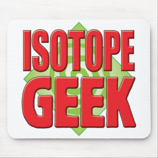 Isotope Geek v2 Mousepads