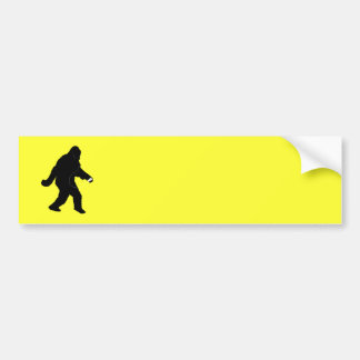iSquatch (Change Background Color) Bumper Sticker