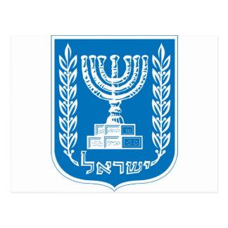 israel_armoiries coat of arm. postcards