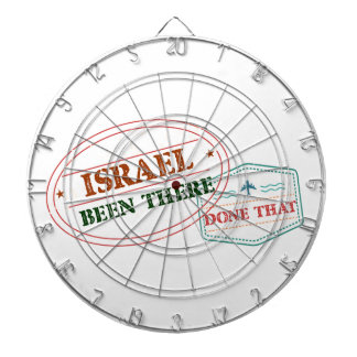 Israel Been There Done That Dartboard