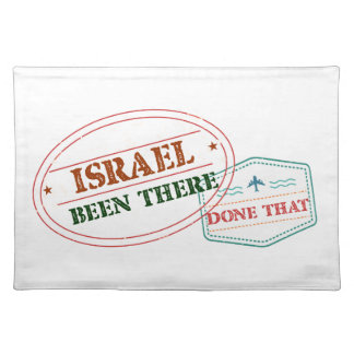 Israel Been There Done That Placemat