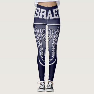 Israel Coat of Arms Leggings