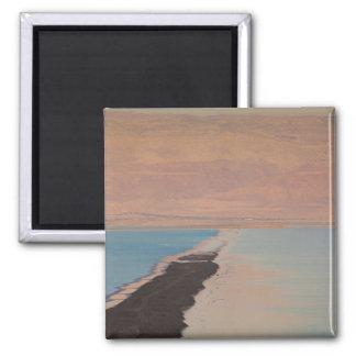 Israel, Dead Sea, Ein Bokek, Dead Sea, dusk 2 Refrigerator Magnets
