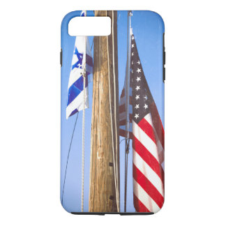 Israel Flag and American Flag iPhone 7 Plus Case
