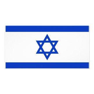 Israel Flag Customised Photo Card