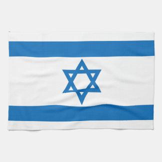 Israel Flag Hand Towel
