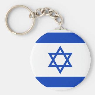 Israel Flag Key Ring