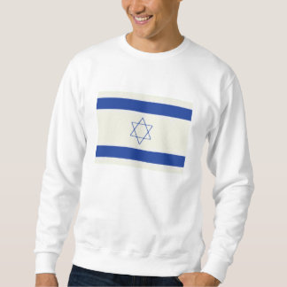 Israel Flag Oil Painting Sweatshirt