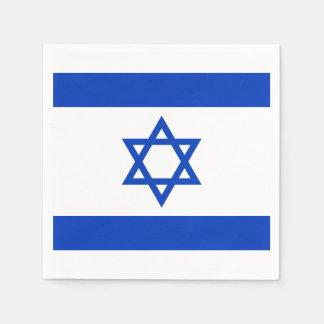 Israel Flag Paper Napkin