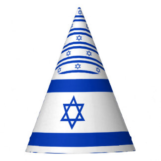 Israel Flag Party Hat