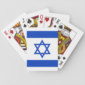 Israel Flag Playing Cards