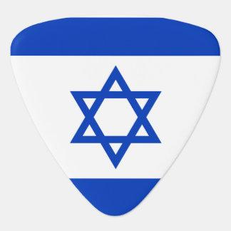 Israel Flag Plectrum