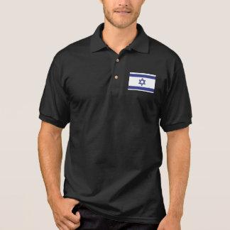 Israel Flag Polo Shirt