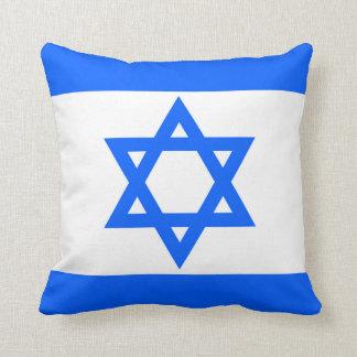 Israel Flag Throw Pillow Throw Pillow